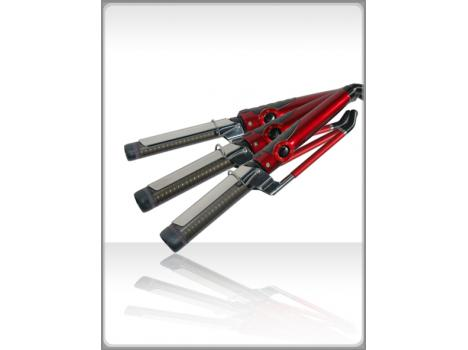 CREATE NEW CURLING IRONS - Advanced dual handle (Marcel) operation -  Available in 3 barrel sizes: