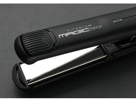 CREATE Titanium Magic Mirror Hair Straightener/ Styler 230c (medium plate) - Worldwide Voltage